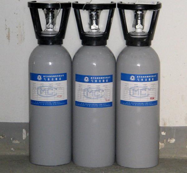 甲烷中五组分标准气体