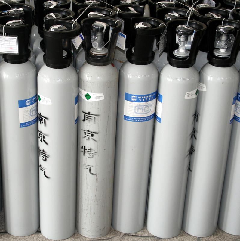 氮中三组分标准气体